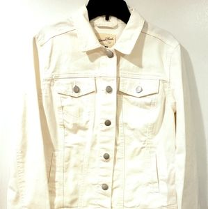 NWT Spring Jacket Universal Thread Size S White